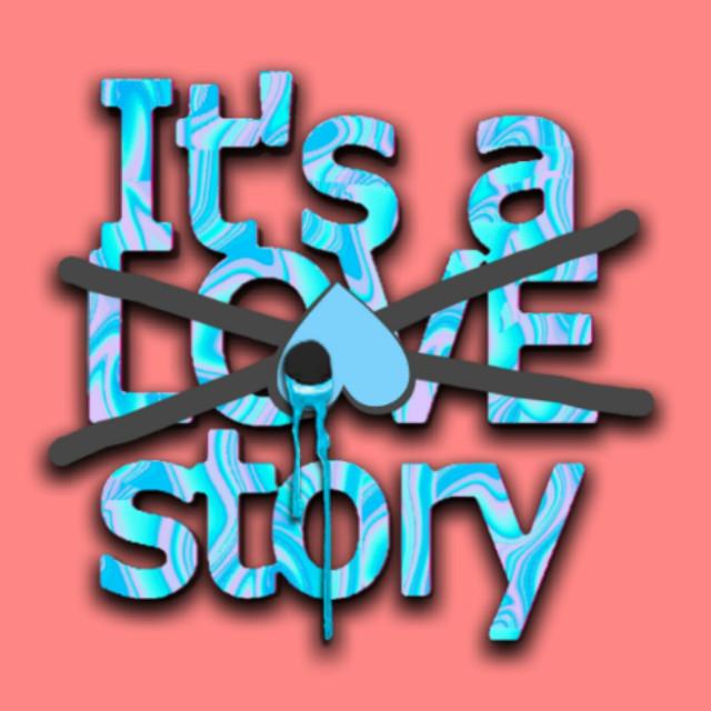 #freetoedit #itsalovestory #lovestory #nolove #kms #heart #bleedingheart #peach #blue #quotes & sayings