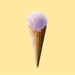 freetoedit pink icecream tumbrl yellow