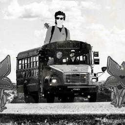 freetoedit steveharrington strangerthings2 bus max ircyellowschoolbus