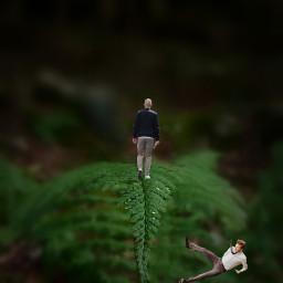 freetoedit man walkimg falling