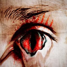freetoedit blood bloody horror scarythat ircfanartofkai pcbeautifulbirthmarks dcfamilyportraits