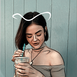 freetoedit lucyhale outlinesart outlines