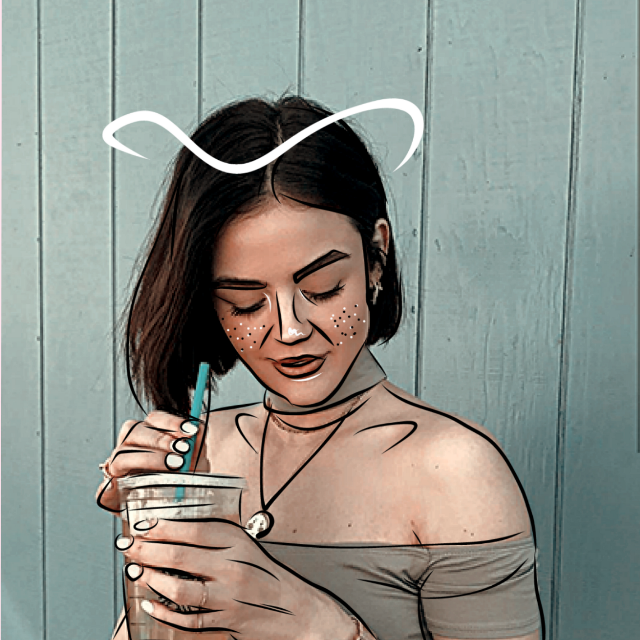 #freetoedit #lucyhale #outlinesart #outlines