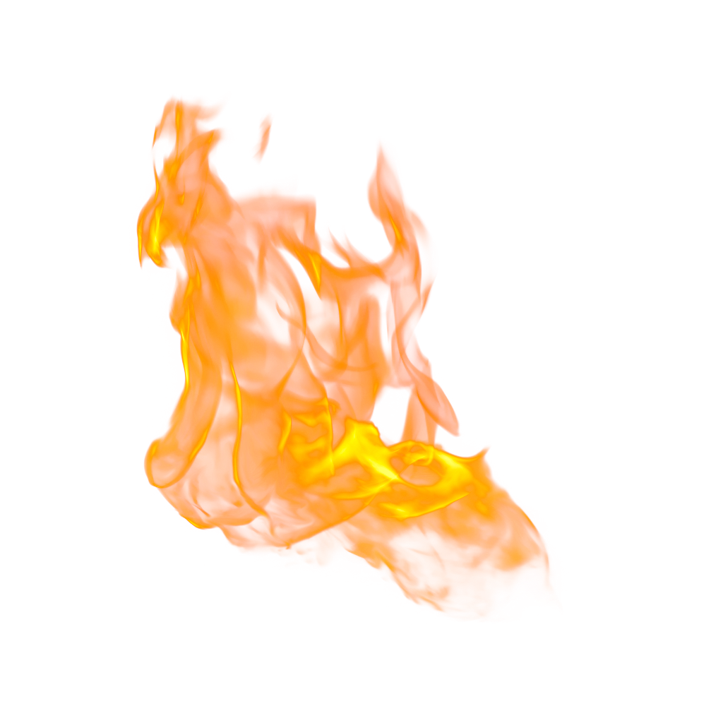 fire element nature orange flame light effects png