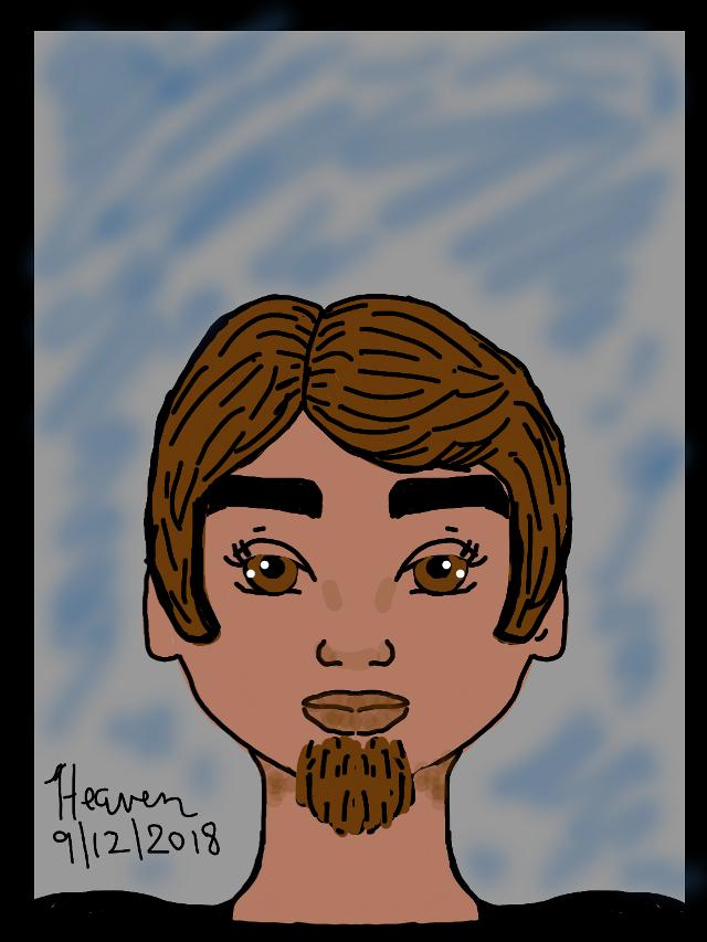 Guy with a Beard  #mydrawing #dailydraw #digitaldrawing #illustration #illustrationdaily #drawingart #art #artistic #sketch #digitalart #dibujo #dibujar #arte
