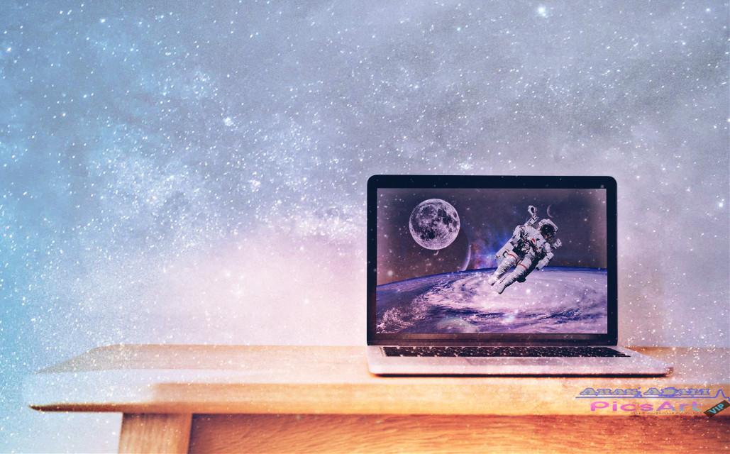 #freetoedit #galaxy #astronaut #planets #picsart #myedit @pa @freetoedit