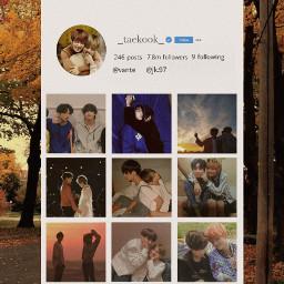 freetoedit bts taekook instagram jungkook ecmybestedit