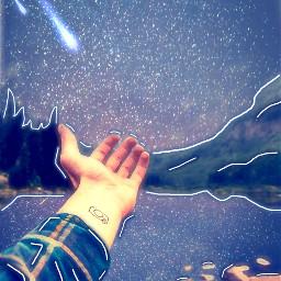 freetoedit galaxy land magicalmountain irclandscapephotography