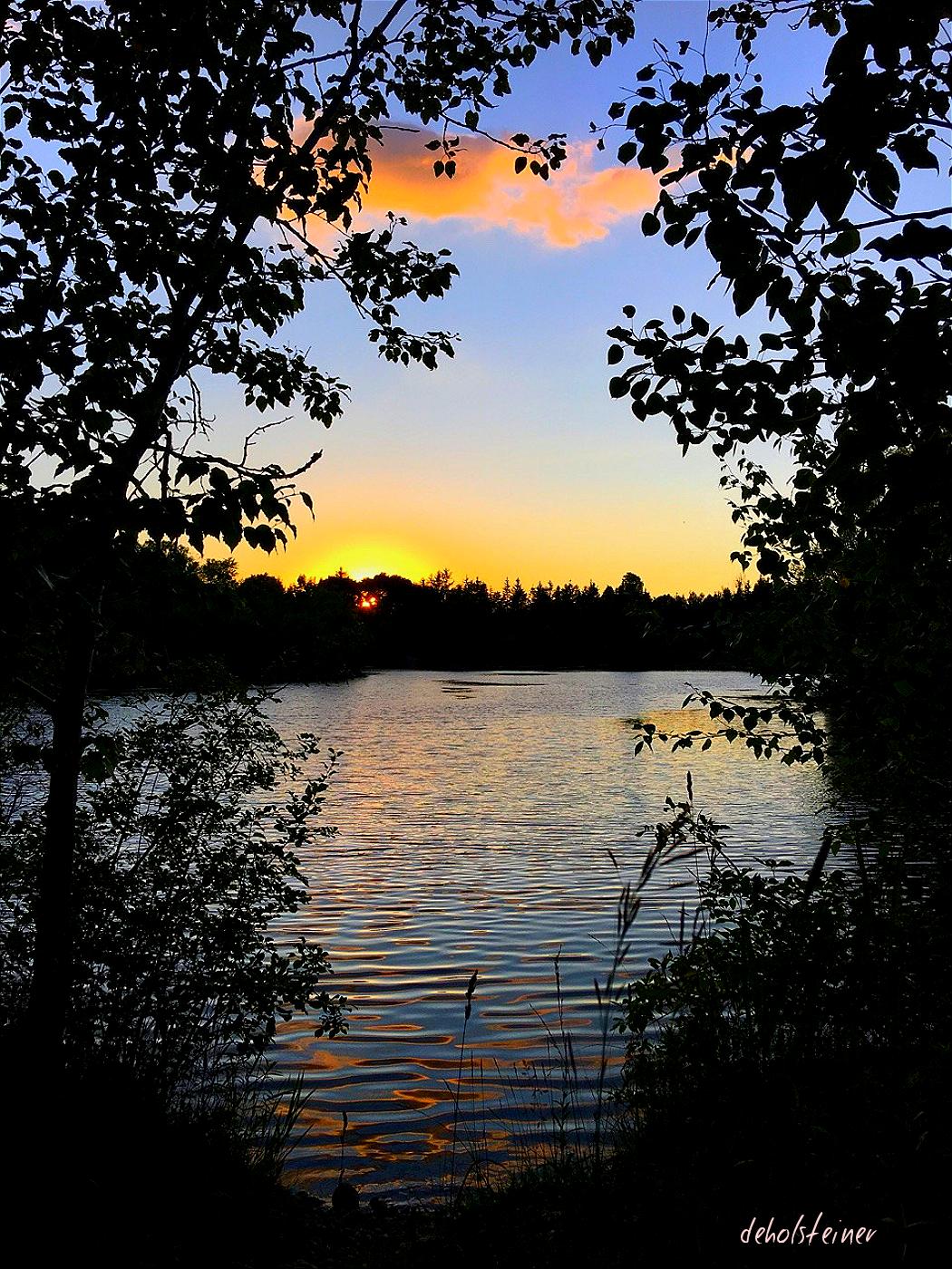 Good night friends nature night lake photography - Good night nature pic ...