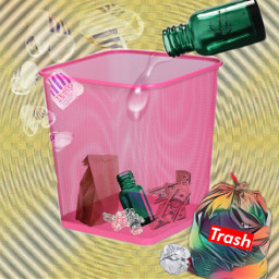 freetoedit bin rubbish trash trasher ircgreenglassbottle