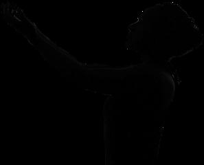 silhouette girl lady woman ftestickers freetoedit