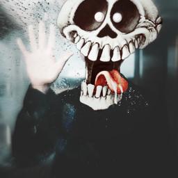 freetoedit windowlicker skeleton humor skull