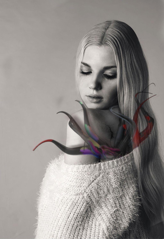#freetoedit #krake #octopus #girl #change #verwandlung #angelanddemon #badvsgood