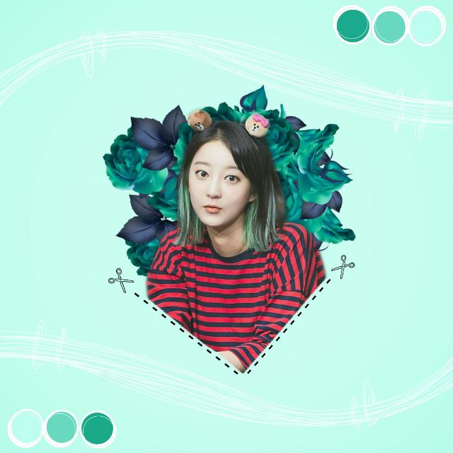 #freetoedit  #exid  #exidhyerin #hyerin #green #kpop #cute #exidkpop #edit