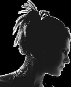 silhouette girl woman lady ftestickers freetoedit