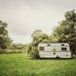 freetoedit camper vintage overgrown