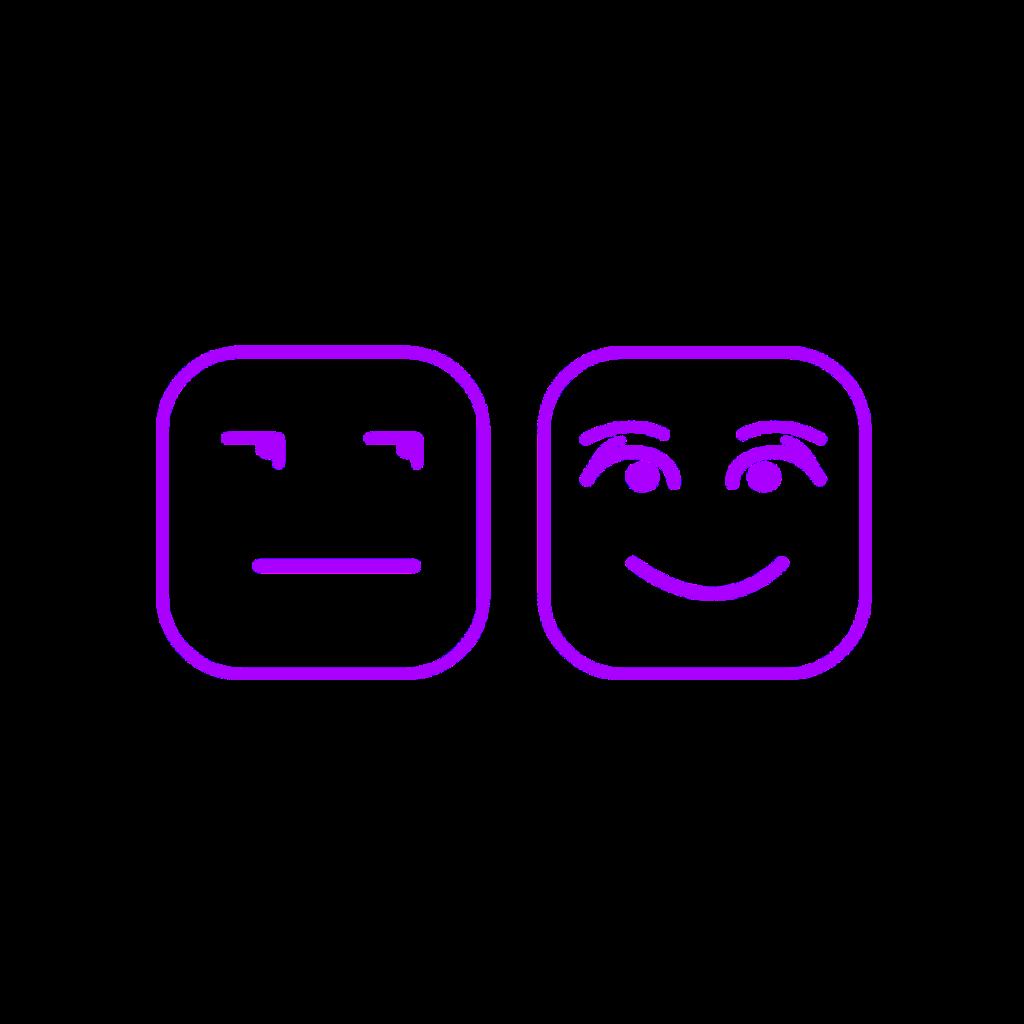 #mq #purple #square #emoji #smile