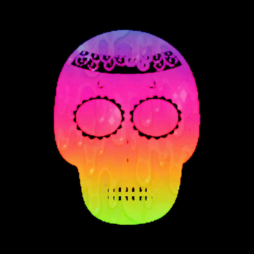 #mq #rainbow #rainbows #skulls #skull