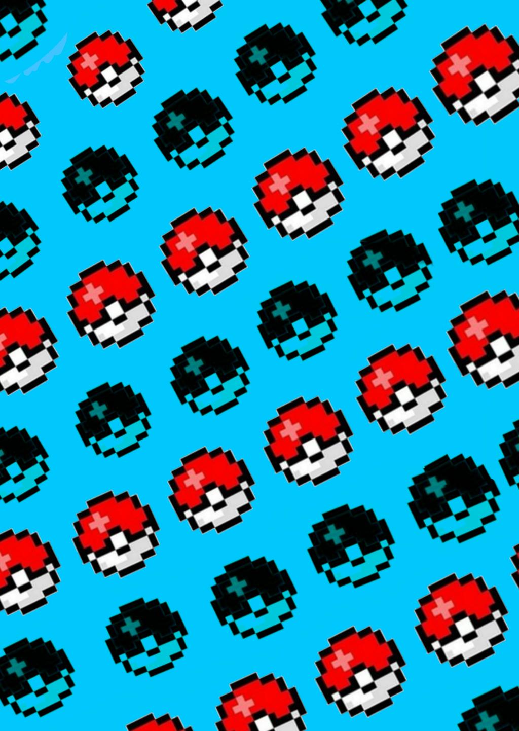 Pokémon Background Pixel Art Made By Me F