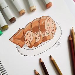 roasted freetoedit studioghibli animefood drawing