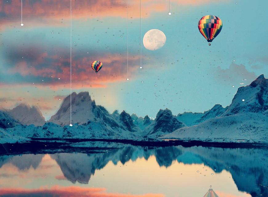 #freetoedit  #irchotairballoons #hotairballoons #balloons
