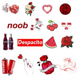 freetoedit collage tumblr followme red