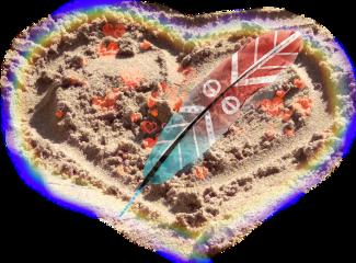 heart sand freetoedit scstars stars