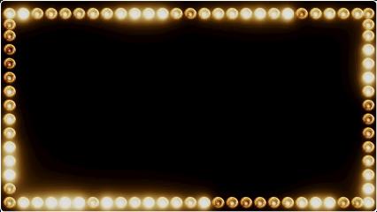 mirror lights frame superstar fame