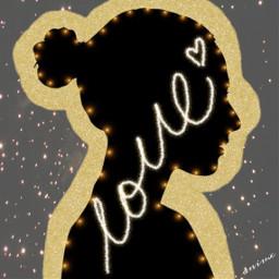 freetoedit love oro girlslove ecoutlines