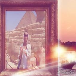 freetoedit passeiomaravilhoso piramides egyptian sol ircbanksyparody