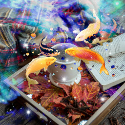 freetoedit fotoedit fishes teacup space