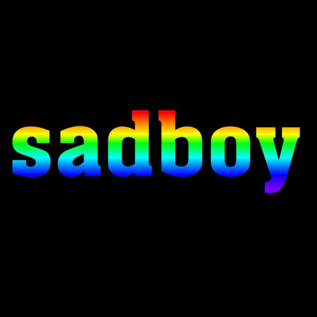 #sad #boy #kanashii #shounen #colors #rainbow #red #orange #yellow #green #blue #dark #purple #lgbt