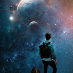 cosmicbrilliance universe galaxy exploring photomanipulation