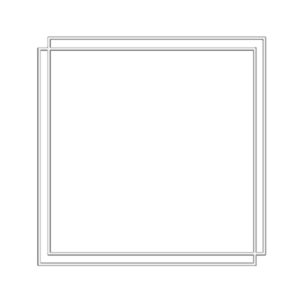 Square Box Background Icon Overlay Aesthetic