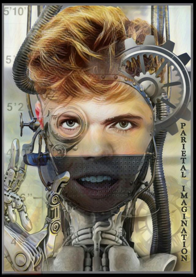 Edit by: Parietal Imagination Art Subject: @imhrvy  #HRVY #cyborg #magicfx #hand #freetoedit  #irchrvyfanart