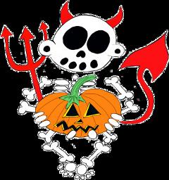 zanoskull halloween pumpkin halloweenspirit skeleton freetoedit