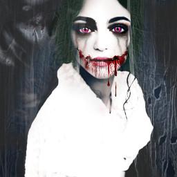 freetoedit pi31dayofhalloween creepy remixedbyme digitalart