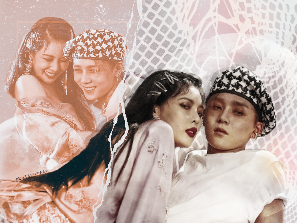 Hyuna and E'dawn for @taeleman 😋💜  Hope you like it 💖 Because I really don't know if I do..... Sorry for that..... 😅  #kpop #hyuna #freetoedit #hyunaxedawn #edawn