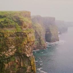 freetoedit nature cliffs fog sea