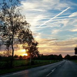 freetoedit evening eveningsky ontheroad road