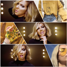 thegabbieshow yellow gabbiehanna collage 1