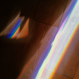 raimbow floor holographic dailylife