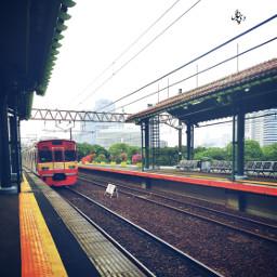 myphoto myclick jakarta train station