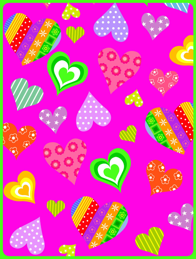 #freetoedit #background #backgrounds #wallpaper #hearts #pattern #abstract #popart #bright #colorful #bordertool #myedit #madewithpicsart
