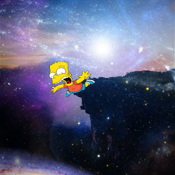 freetoedit galaxyedit galaxy universe simpson