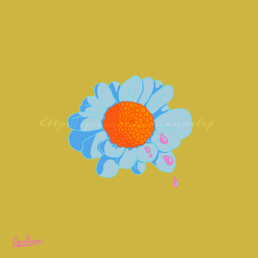 Naivety Daisy Aesthetic Flower Drawing Digitaldrawing