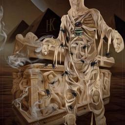 freetoedit mummy awakening spiders egyptian