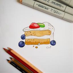 slice cake food cartoon legendofkorra freetoedit
