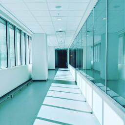 hallway freetoedit rays hospital