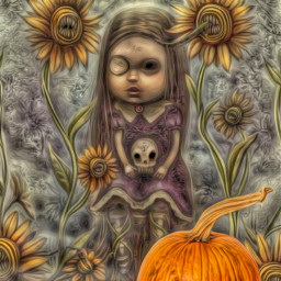 freetoedit hallooween pumpkin steampunkangel irctheperfectpumpkin